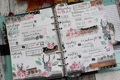 Creative Pages by amaryllis775: Filofaxing / Oh deer!