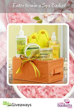 fatwallet --win a spa basket