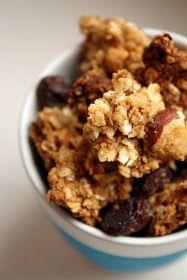 26 Super Ideas for cake homemade breakfast Banana Granola, Best Granola, Vegan Granola, Granola Cereal, Banana Nut, Vegan Sandwich Recipes, Baby Food Recipes, Healthy Recipes, Diet Recipes