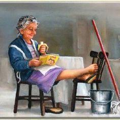 Marius van Dokkum – Contra Spem Spero… Et Rideo - Rente Sprüche Ruhestand I Love Books, Good Books, Books To Read, My Books, Reading Art, Woman Reading, Gif Animé, Animated Gif, Old Folks