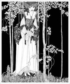 "cair-paravel: ""John Austen、1922年ハムレットのイラストレーション"""