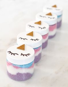 Make Your Own Unicorn Sugar Scrubs