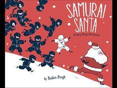 Samurai Santa: A Very Ninja Christmas! (Book Trailer)