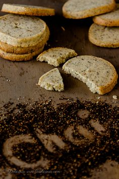 Chai Shortbread cookies recipe. [I'm going to try this even though I'm a little confused on the chai tea leaves, since chai is basically a black tea with spices added. It is not a specific kind of tea leaf called chai. Maybe they mean the whole blend of tea leaves and spices. ]