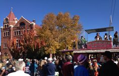 Nevada Day! Hands down the most fun parade to celebrate statehood ANYWHERE!  The streets are packed, side parties and events everywhere.  So much fun! I hear it's the biggest Bloody Mary (drink) #party west of the Mississippi River.