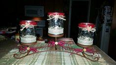 Canning jar centerpiece