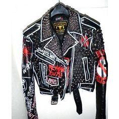 Punk Studded leather Jacket - eBay (item 110589606430 end time Sep-29-10 17:51:13 PDT)