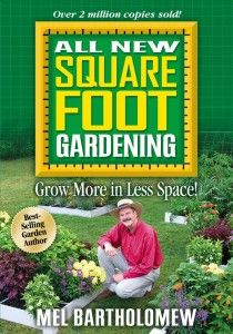 Planning and plotting a square foot garden