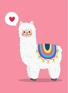 Alpacas, Llama Alpaca, Alpaca Cartoon, Llama Drawing, Ballet Drawings, Baby Llama, Cute Animal Illustration, Retro Art, Cute Funny Animals