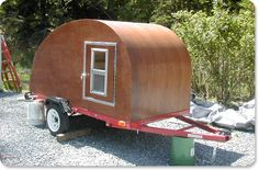 build your own teardrop camper to travel in personal style