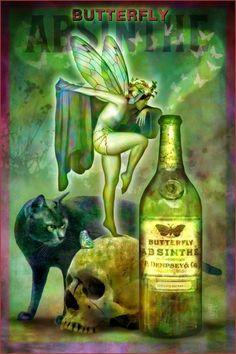 Butterfly absinthe