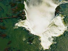 Iguazu Falls, Argentina-Venezuela border Photograph by Chris Schmid Aerial view of Iguazu Falls, Brazil-Argentina border What A Wonderful World, Wonderful Places, Beautiful World, Beautiful Places, Amazing Places, Beautiful Pictures, National Geographic Fotos, Brazil Argentina, Wallpaper Travel