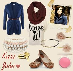 Pair with some leggings or skinny jeans and you have Kari Jobe's style!