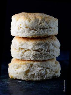 Two Ingredient Cream Biscuit Recipe - Simple to make in no time, tastes great!