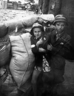 Young scouts - Huge Collection Of The Warsaw Uprising Photos 18 Best of Web Shrine