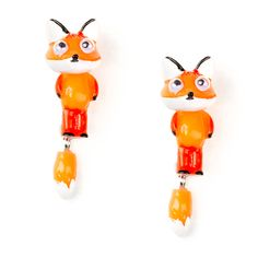 Fox Front and Back Earrings   Claire's