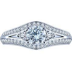 """Ben Moss Jewellers 0.45 Carat Canadian Iceâ""""¢ Centre Diamond, 14k ..."""