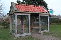 Busstop, Ameland, The Netherlands.