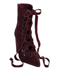 Take a look at this Burgundy Valentina Boot today!