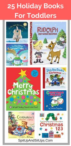 Share the magic of the holidays with your little ones with these 25 adorable holiday books.