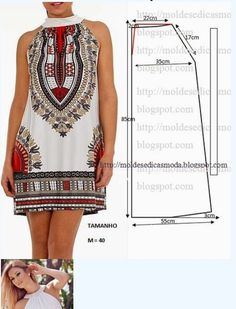 Sewing patterns clothes how to make 59 best ideas Diy Clothing, Sewing Clothes, Clothing Patterns, Dress Patterns, Sewing Patterns, Fashion Sewing, Diy Fashion, Ideias Fashion, Costura Fashion