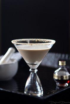 Chocolate Raspberry Cheesecake Martini