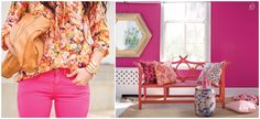 Pink: fashion x decor #pink #fashion #casadasamigas #decor