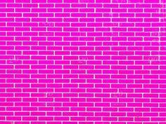 Brick Wall Background, Image T, Red Bricks, Pink Color, Hot Pink, Backdrops, Stock Photos, Black And White, Google