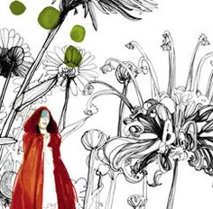 Little red riding hood by Daniel Egneus, one of the best illustrator in the world