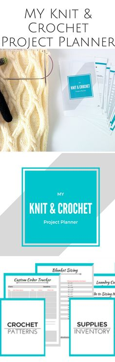 23 pages of templates, resources, and guides to make crocheting (and knitting) so much easier. You NEED this knit and crochet project planner for the holidays!