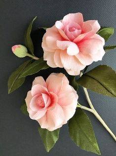Suzonne Stirling could be classified as a Renaissance woman, professional crafter, and freelance stylist known for her beautiful paper roses. Crepe Paper Crafts, Paper Flowers Craft, Crepe Paper Flowers, Flower Crafts, Fabric Flowers, Flower Art, Giant Flowers, Diy Flowers, Beautiful Flowers