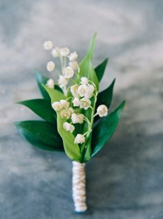 The wrap on the bottom of this boutonniere is a wonderful finishing touch!