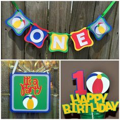 Beach Ball Party Decorations Beach Ball Party Package  Beach Party  Pool Party  Sea