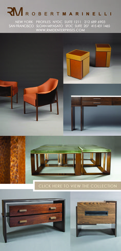 Robert Marinelli-Furniture Design