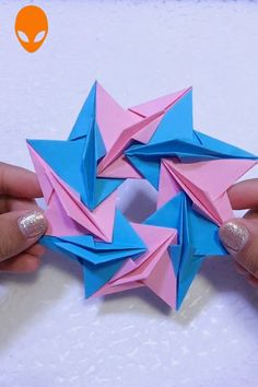 In this DIY tutorial, we will show you how to make Christmas decorations for your home. The video consists of 23 Christmas craft ideas. Cute Origami, Origami 3d, Useful Origami, Paper Crafts Origami, Diy Paper, Origami Ideas, Diy Crafts Videos, Diy Crafts For Kids, Easy Crafts