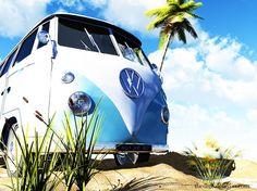 VW Bus - Volkswagen Wallpaper ID 1407160 - Desktop Nexus Cars