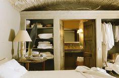 wall as cupboard & bathroom entrance Wabi Sabi, Cupboard, Oversized Mirror, Sweet Home, Rustic, Wall, Furniture, Design, Cv