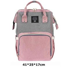 U SmartTech Baby Diaper Nappy Backpack (Pink with Grey) Baby Girl Diaper Bags, Large Diaper Bags, Buy Backpack, Diaper Bag Backpack, Dipper Bag, Diaper Bag Organization, Nappy Changing Bags, Grey Backpacks, Bag Accessories