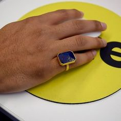 Beneath Ringly's semi-precious stone is a Bluetooth receiver and other high-tech gizmos that make the ring buzz and/or flash when you have important notifications. It's like a 21st century pager for your finger.