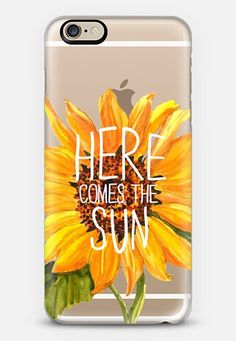 Here Comes The Sun iPhone 6 case by Sara Eshak   Casetify