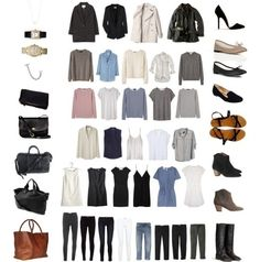 Minimalist wardrobe for women - How to create a minimalist wardrobe using the secrets of chic French Parisian women capsule wardrobe
