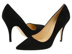 Kate Spade New York Licorice Black Suede - Zappos Couture