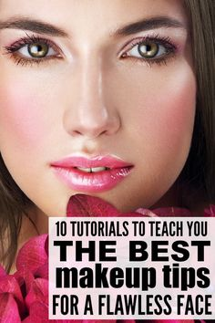 Whether you're new to makeup, or consider yourself a pro, these tutorials are FILLED with helpful makeup tips to teach you how to apply foundation, how to apply eyeliner, how to shape your eyebrows, how to apply mascara, and so much more. Good luck!