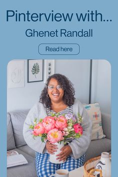 Hear from the lovely Ghenet Randall as she fills us in on finding her niche, her opinions on why representation matters and her favourite Pinterest creators to follow right now.