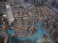 Fantastic view from Burj Al Khalifa #dubai #burjkhalifa #awesome by worldtripbytwo
