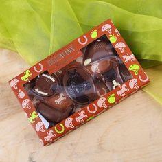 Eine tolle Geschenkidee für Pferde-Liebhaber ist dieses Geschenkset, bestehend aus 5 Schokoladen im Reiter-Motiv. #Schokolade