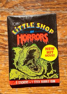 Topps Little Shop of Horrors Trading Cards