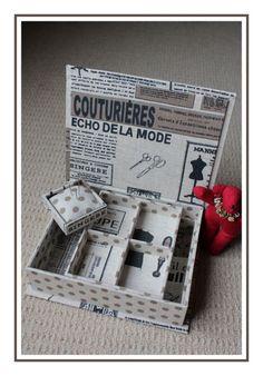 Côté mercerie - Boutique Carton-Marie Boite à Couture