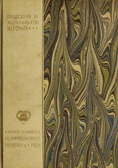 Cover from the book, Coliezione di Monografie Illustrate. Clark Art, Book Design, The Borrowers, Book Covers, Draw, Illustration, Books, Impressionism, Libros