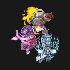 Shop Subclasses Group 3 t-shirts designed by fallerion as well as other merchandise at TeePublic. Destiny Ii, Destiny Bungie, Destiny Game, Game Character Design, Character Concept, Character Art, Concept Art, Chibi Knight, Destiny Backgrounds